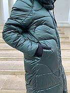 Длинный пуховик одеяло Rufuete 19988, фото 7