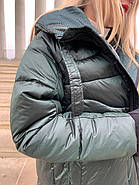 Длинный пуховик одеяло Rufuete 19988, фото 8