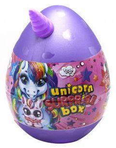 """Подарунковий набір для творчості """"Unicorn WOW Box"""" ФІОЛЕТОВИЙ арт. UWB-01-01"""