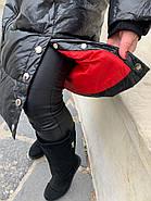 Пуховик длинный с капюшоном Rufuete CL7611, фото 7