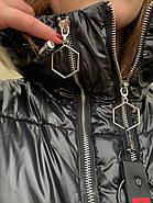 Пуховик длинный с капюшоном Rufuete CL7611, фото 8