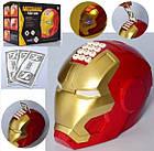 Сейф-копилка Железный человек с кодовым замком и приемником купюр, интерактивная детская игрушка копилка сейф, фото 2