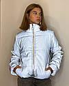 Светоотражающая рефлективная подростковая куртка Вик Размеры 140-170, фото 4