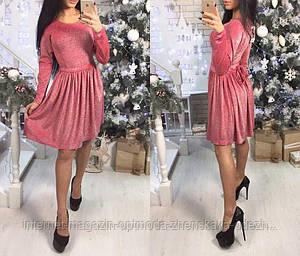 """Красивое женское платье с люрексом """"Мика"""""""