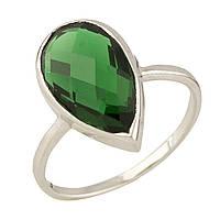 Серебряное кольцо DreamJewelry с изумрудом nano (0700502) 18.5 размер