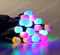 Гирлянда нить уличная 10м, 100LED разноцветная оболочка, фото 1