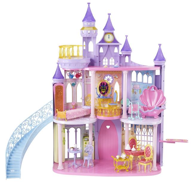 Мебель для кукол, детские домики, замки