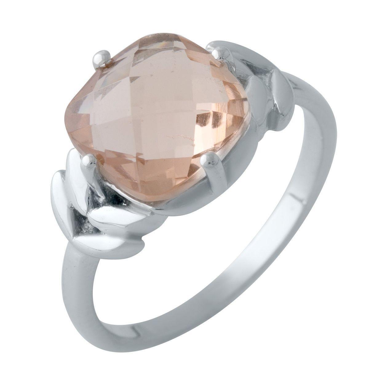 Серебряное кольцо DreamJewelry с морганитом nano (2003410) 18 размер