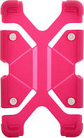 "Чехол-накладка TOTO Tablet universal stand silicone case Universal 7/8"" Hot Pink"