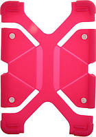 "Чехол-накладка TOTO Tablet universal stand silicone case Universal 9/12"" Hot Pink"