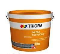 Краска шиферная TRIORA, 10 л  - Про100дом - Интернет-магазин - отопление, котлы, радиаторы, стройматериалы в Харькове