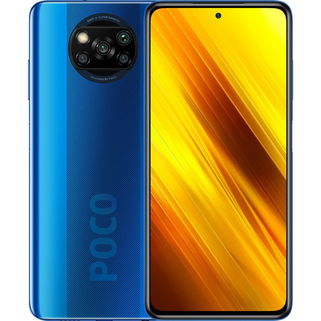 Xiaomi Poco X3 6/128 Global NFC (Blue)