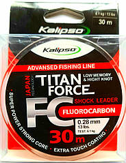 Флюорокарбон Kalipso Titan Force 30м 0,12 мм