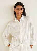 Смугаста сорочка блуза Mango XS-S
