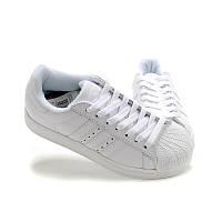 Кроссовки мужские Adidas Superstar Supercolor (в стиле адидас)  белые