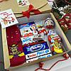 Новогодний подарочный набор детский со сладостями, фото 2