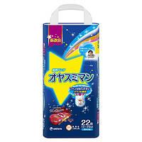 Moony подгузники – трусики ночные Big (13-25) кг, 22 шт. для мальчика