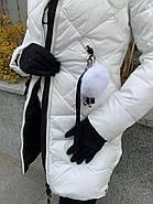 Пуховик женский белый SIYAXIGE 938-2, фото 6