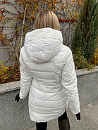 Пуховик женский белый SIYAXIGE 938-2, фото 3