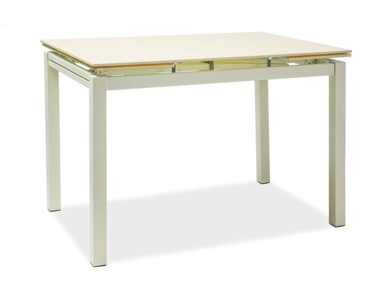 Стол обеденный Signal Мебель Turin 110(170) х 74 см Крем (TURINK110)