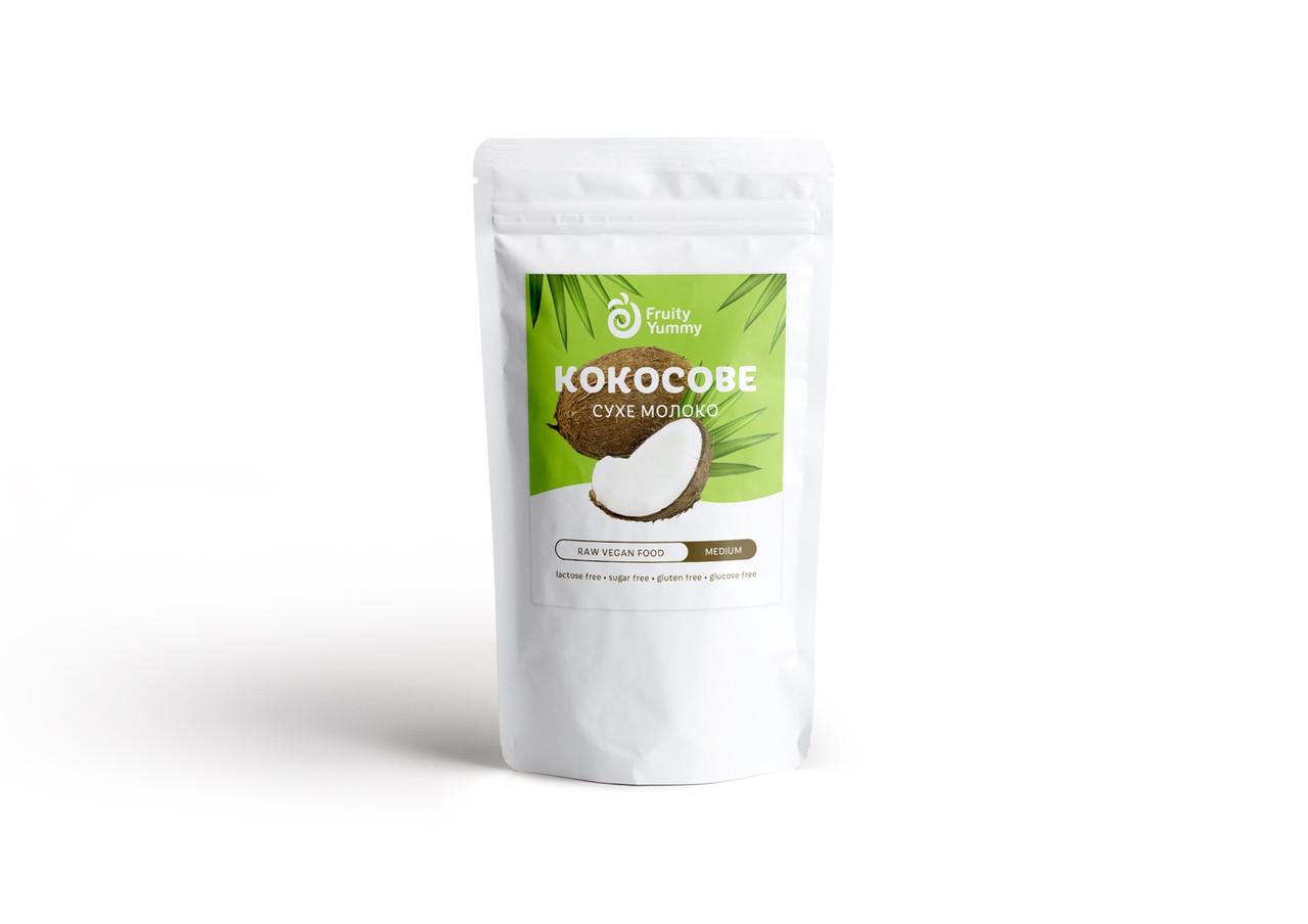Кокосове молоко сухе Fruity Yummy medium (повністю розчинне), 200 г