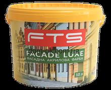 Краска фасадная акриловая FTS/ФТС FACADE LUXE Ведро 10л