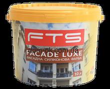 Краска фасадная силиконовая FTS/ФТС FACADE LUXE Ведро 10л