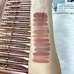 Набор из 12 матовых помад Nude, фото 4