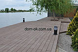 Уголок для террасной доски из ДПК Хольцдорф  3000x47x47 мм импрес, фото 7