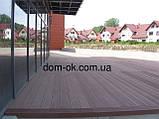 Уголок для террасной доски из ДПК Хольцдорф  3000x47x47 мм импрес, фото 10