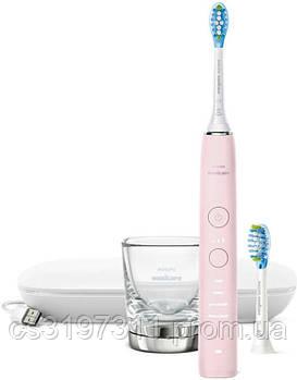 Звуковая зубная щетка Philips DiamondClean 9000 Pink HX9911/29