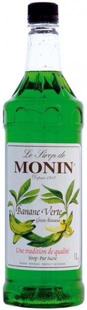 Сироп для кави MONIN Зелений Банан 0,7 л