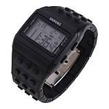 Електронні чоловічі годинники SHHORS - 79887.05+підсвітка, фото 2