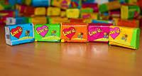 Жвачки Love is блок микс 100шт