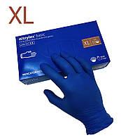 Перчатки нитриловые MERCATOR MEDICAL нестерильные (без пудры) 50 пар (100шт) размер XL