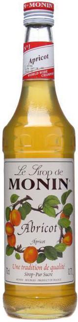 Сироп для кофе и коктейлей MONIN Монин Абрикос 0,7л