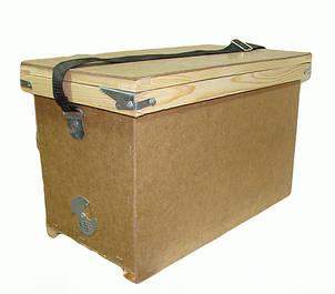 Рамконоси-рійниці, ящики для бджолопакетів, ящик-табурет