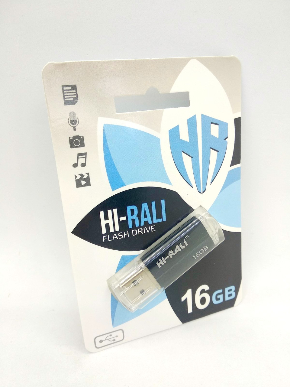 Флеш-накопитель Usb 16Gb Hi-Rali Corsair series Black