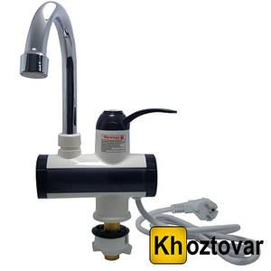 Проточний водонагрівач з LCD екраном Water Faucet RX-006 | Нижнє підключення
