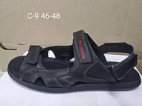 Кожаные мужские босоножки сандали шлепки Columbia большого размера 46, 47, 48