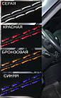 Чехлы на сиденья Пежо 206 (Peugeot 206) (модельные, экокожа+автоткань, отдельный подголовник), фото 8