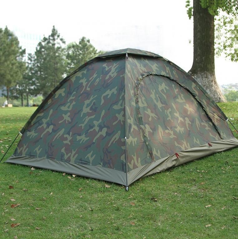 Палатка, комуфляжная, четырех, 4, местная, туристическая, рыбацкая, 200х200х150см, защитная, намет