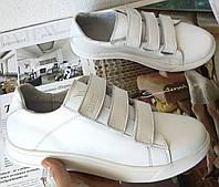 Супер! Женские туфли Mаnte с липучками! Ботинки кожаные манте осень батальная серия