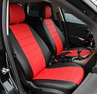 Чехлы на сиденья Ниссан Микра (Nissan Micra) (модельные, экокожа Аригон, отдельный подголовник), фото 5