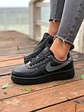Женские кроссовки  Nike на меху черные(копия), фото 3