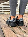 Женские кроссовки  Nike на меху черные(копия), фото 5