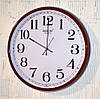 """Часы настенные """"Rikon RK1608"""" marun white (43 см.)"""