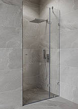Душова кабіна 180 градусів з орними дверима на склі