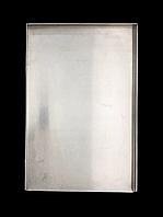 Противень для выпечки алюминиевый 600х400х20 мм, 3 борта, толщина 1,5 мм