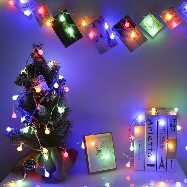 светодиодные фонарики новогодние